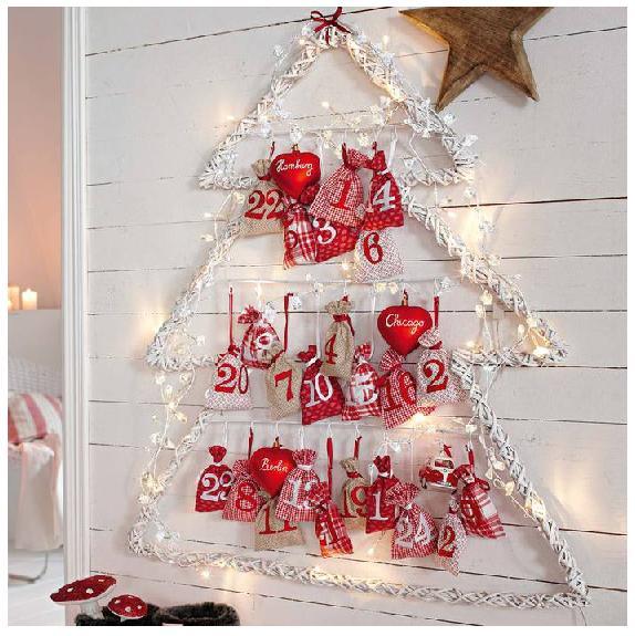 адвент календарь в елке