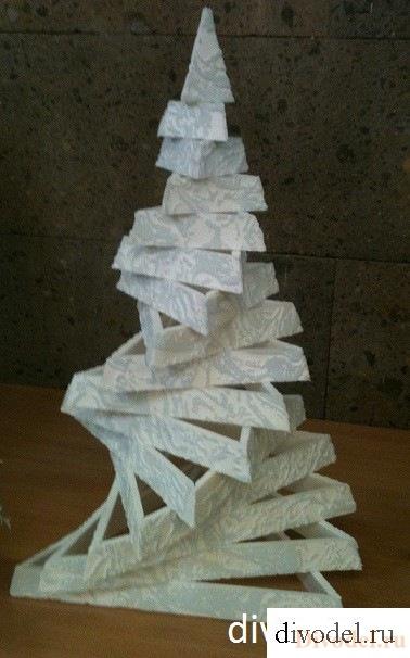 Дизайнерская елка своими руками