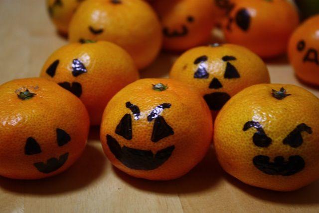 идеи для еды на Хеллоуин