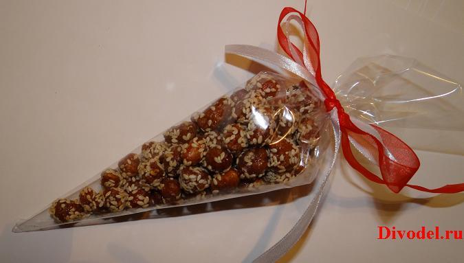 сладости в адвент календаре, подарки для адвент календаря