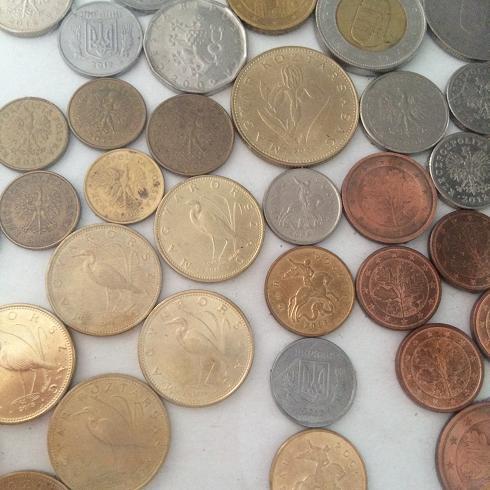 монеты для картины