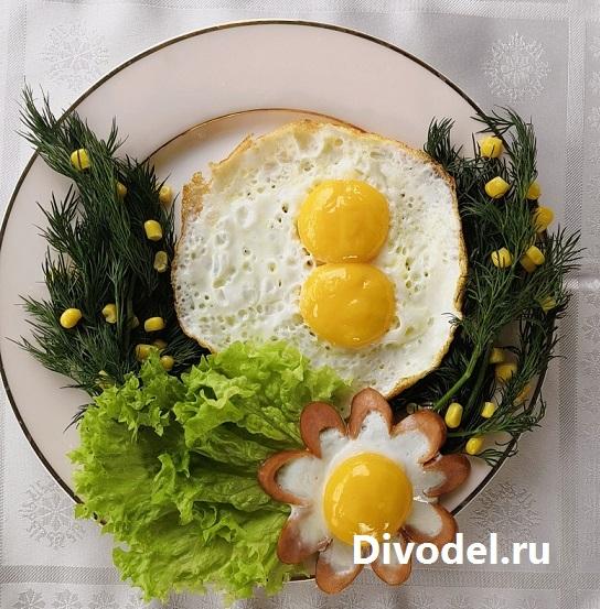 яичница 8 марта, блюда на 8 марта, завтрак на 8 марта, завтрак для любимой, рецепты на 8 марта, праздничные блюда на 8 марта