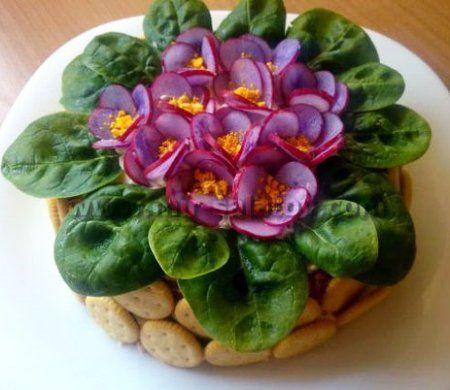 салат 8 марта, блюда на 8 марта, завтрак на 8 марта, завтрак для любимой, рецепты на 8 марта, праздничные блюда на 8 марта