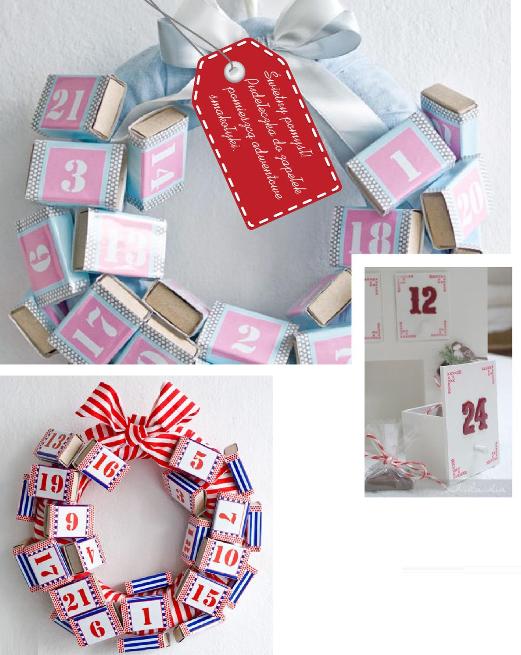 адвент календарь: спичечные коробки