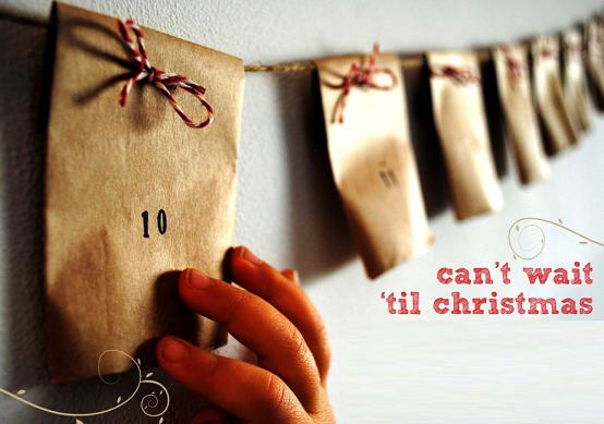 адвент календарь из пакетиков