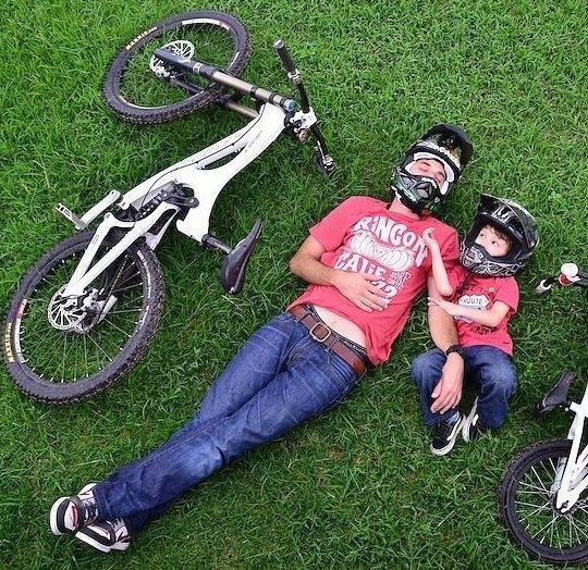 фото мужа с ребенком