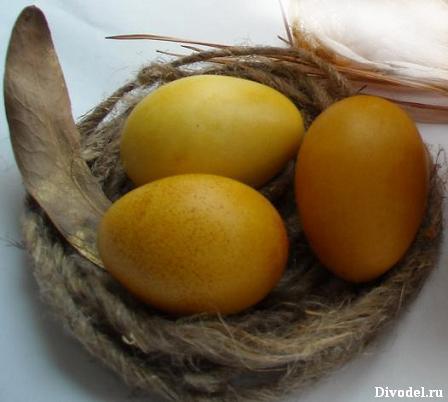 Идеи к пасхе своими руками: гнездо