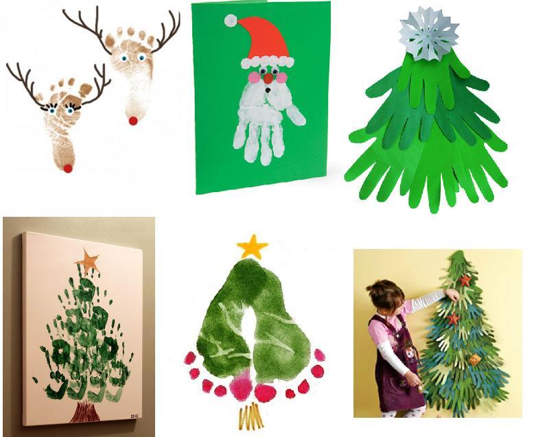 идеи для создания открыток для бабушек и дедушек и для папы и мамы на новый год и рождество