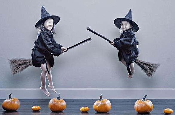 необычное фото на Хеллоуин