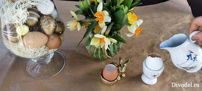 оформление пасхального стола, украшение пасхального стола, декор пасхального стола, на пасху декор, на пасху своими руками, пасхальный декор, как сделать вазочку на пасху,