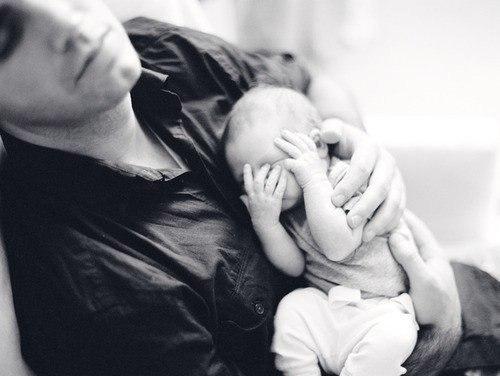 идея фотосессии мужа с ребенком