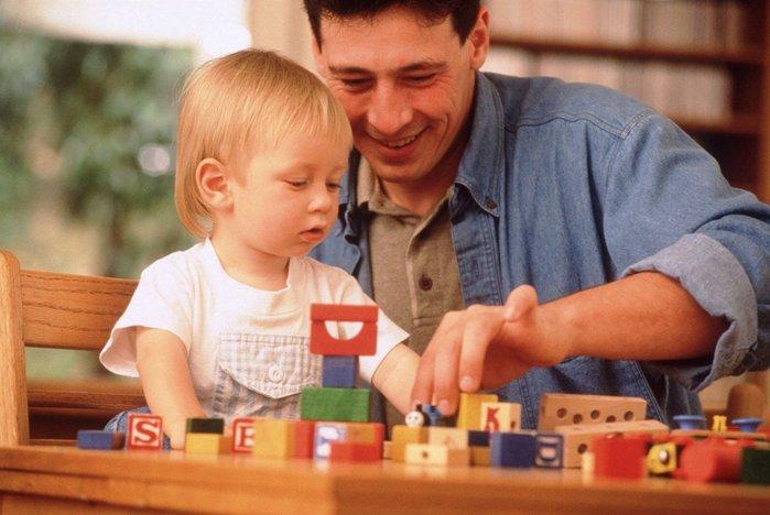 фотосессия мужа с ребенком