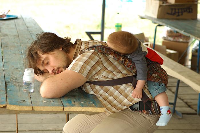 идея фото мужа с малышом