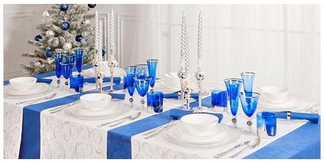 новый год 2014 в синем цвете