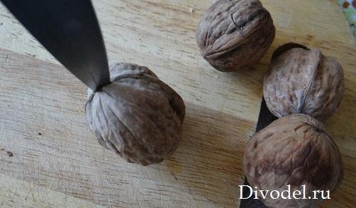 орешки с предсказаниями своими руками