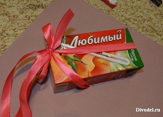 презентация шоколадного обёртывания