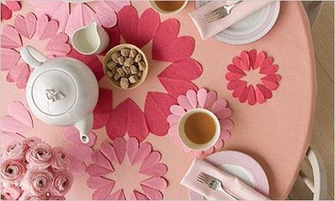 Романтический завтрак на день святого валентина