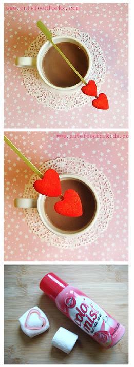 Завтрак для любимого: сердце из мармелоу