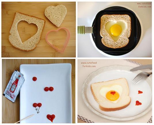 Романтический завтрак на 14 февраля