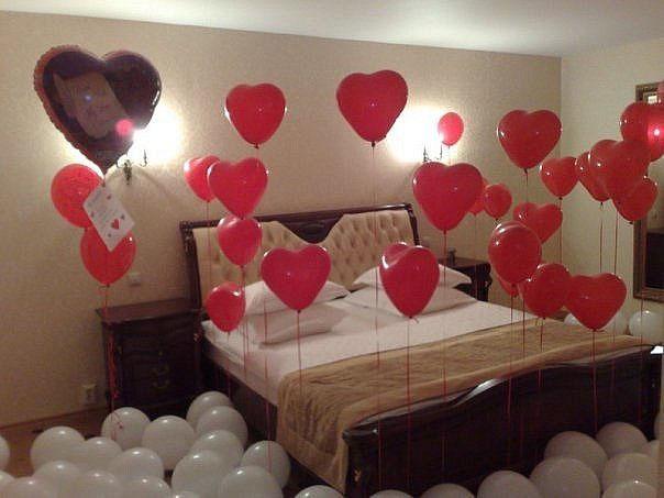 как удивить шариками, оригинально поздравить, поздравление воздушными шариками, идея на 14 февраля из вздушных шаров, удивить любимого
