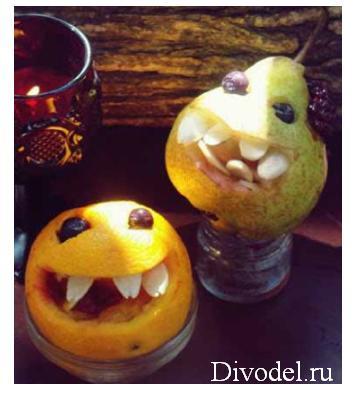 идеи на стол для Хеллоуин