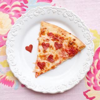 Романтический завтрак : пицца